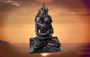 Shivashakti statue